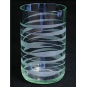 Trinkglas Wellen